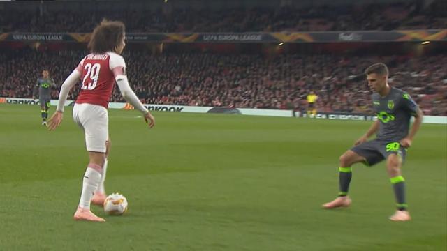 Höjdpunkter: Arsenal fick inte hål på Sporting