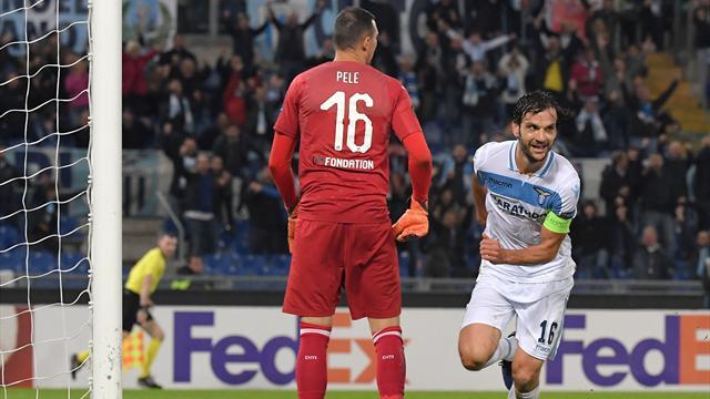 Lazio and Frankfurt into Europa last 32, Marseille out