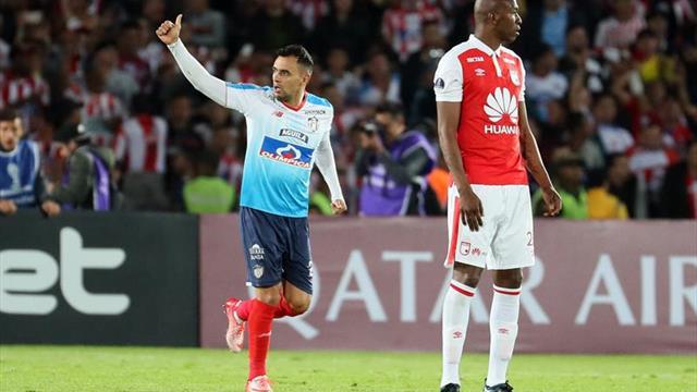 Atlético Paranaense y Junior de Barranquilla abren un abismo difícil de pasar