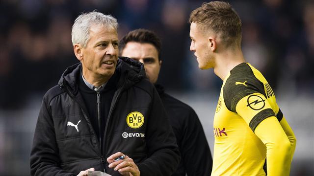 Bruun Larsen schwärmt von BVB-Trainer Favre