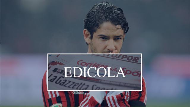 Edicola: Milan, pazza idea Pato per gennaio. L'Inter studia Cragno come vice Handanovic