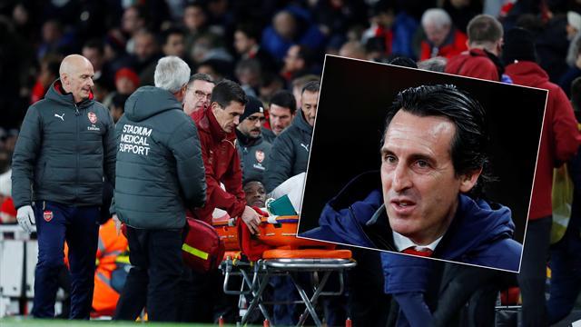 "Emery om Welbecks skada: ""Vi befarar ett benbrott"""