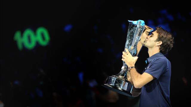 Federer to target 100th singles title at ATP Finals in London