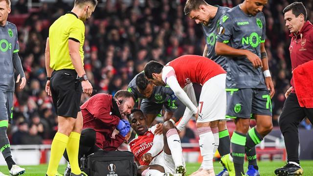 Schwere Knöchelverletzung: Arsenal fürchtet langfristigen Welbeck-Ausfall