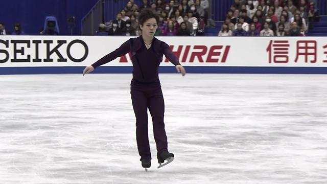 Shoma Uno wins short program at NHK Trophy