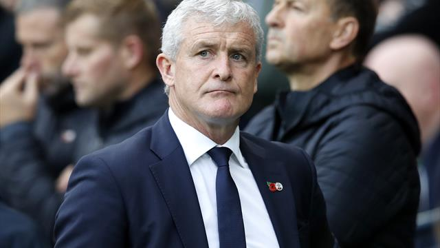 Hughes hopes change of routine can boost struggling Southampton