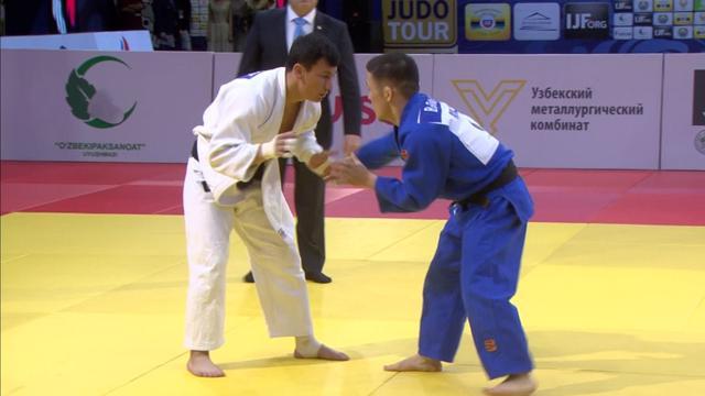 Ganbat grabs gold in -60 kg