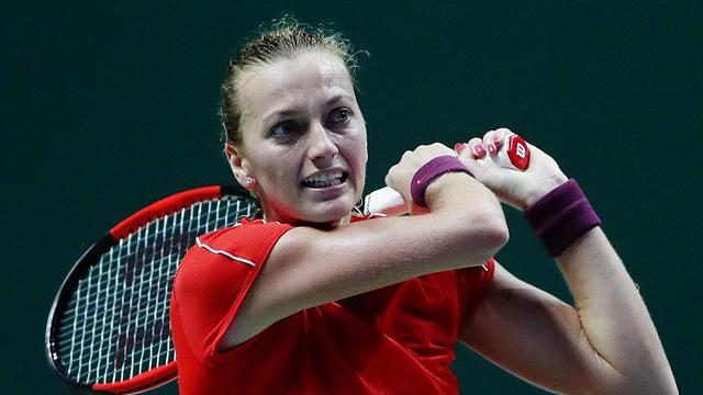 Kvitova set to miss first matches of Fed Cup final due to sickness