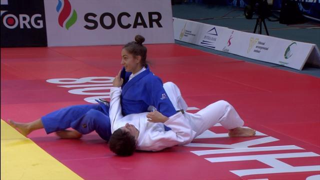 Grand Prix Tashkent: Kelmendi holt Gold mit einem Ippon