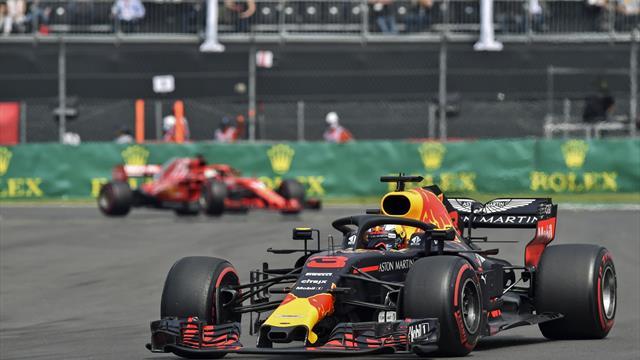 Formel 1: Ricciardo in Brasilien fünf Startplätze zurück