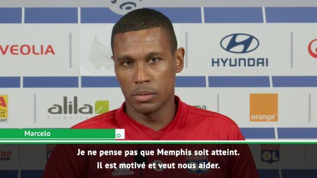13e j. - Marcelo : ''Memphis n'est pas atteint''