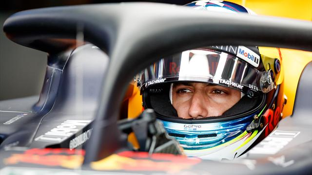 Ricciardo shrugs off penalty, Mercedes quickest in FP2