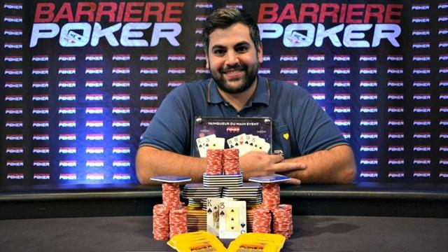 Ugo Faggioli s'impose sur le Barrière Poker Tour Deauville
