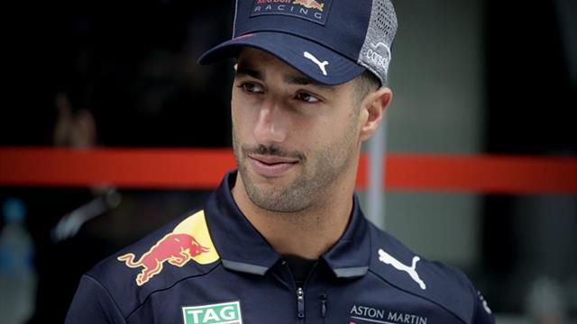 Ricciardo sancionado con cinco posiciones en la parrilla de salida de Brasil