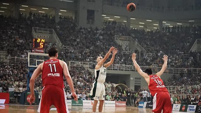 Il Panathinaikos vince il derby di Atene, colpi esterni di Fenerbahce, Barcellona e Zalgiris Kaunas