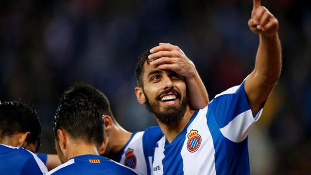 """Borja Iglesias: """"A día de hoy, pensamos en ir a por el primero de la Liga"""""""