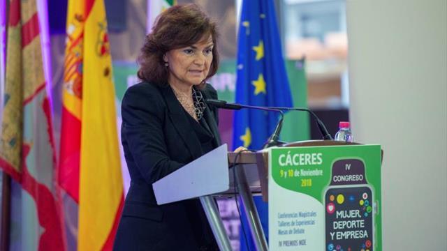 Calvo: No todos los países tienen el avance de España en la lucha contra el machismo
