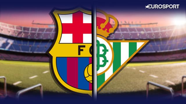 La previa en 60 segundos del Barcelona-Betis (16:15)