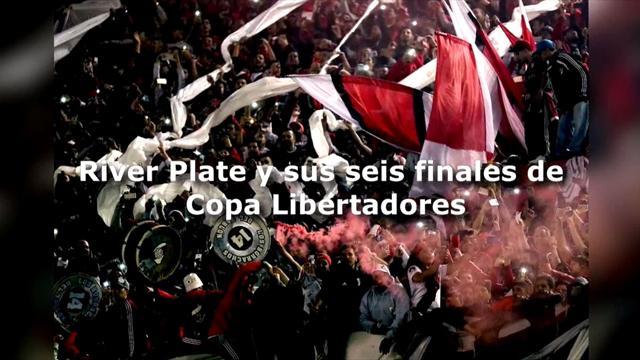 River Plate y sus seis finales de Copa Libertadores