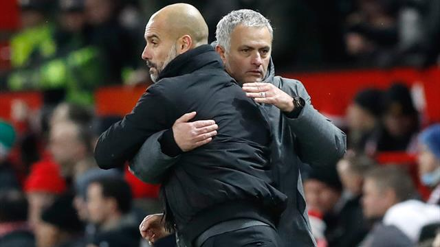 Guardiola not ruling Manchester United out of the title race, even with defeat