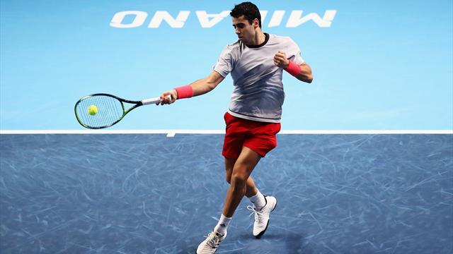 Next Gen ATP 2018: El espectacular 'passing' de Munar al más puro estilo Rafa Nadal