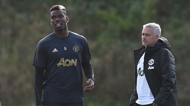 Paul Pogba a doubt for Manchester derby after missing training
