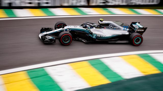 Bottas fastest in second Friday practice
