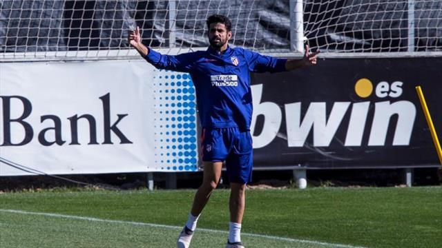 Diego Costa se reincorpora al grupo y Simeone prueba con él en el once