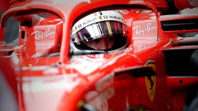 """Vettel, tras comunicar que había """"algo"""" entre sus piernas: """"Fue divertido"""""""
