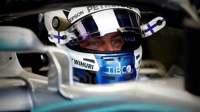 Bottas y Hamilton brillan con Mercedes en los ensayos de Interlagos