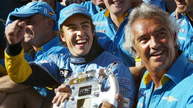 """Briatore: """"Chi più forte tra Michael Schumacher e Alonso? Impossibile rispondere"""""""
