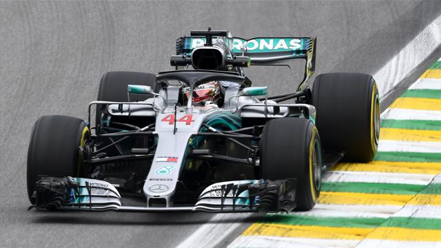 Lewis Hamilton signe sa 82e pole position, la 100e de Mercedes