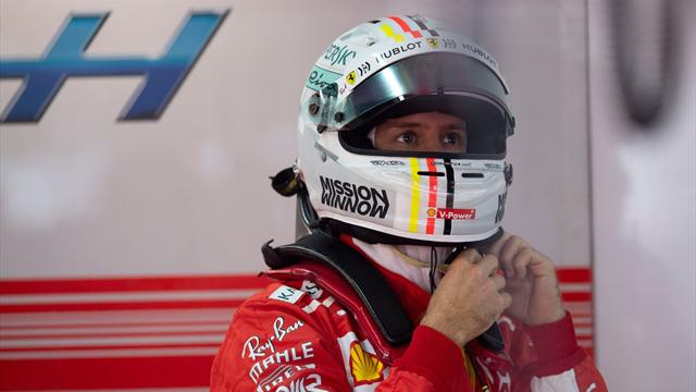 Vettel during FP2: 'There's something loose between my legs. Apart from the obvious'