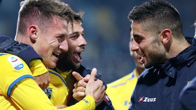El Frosinone agudiza en el 89 la depresión del Fiorentina (1-1)