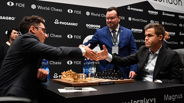 Schach-WM: Carlsen verpasst Auftakt-Sieg