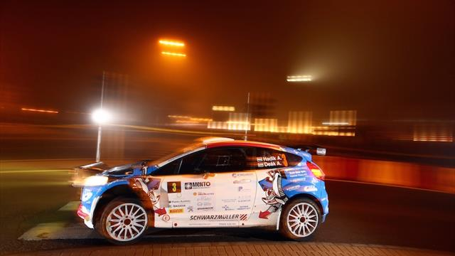 Hadik leads future ERC rally after night-time city stage