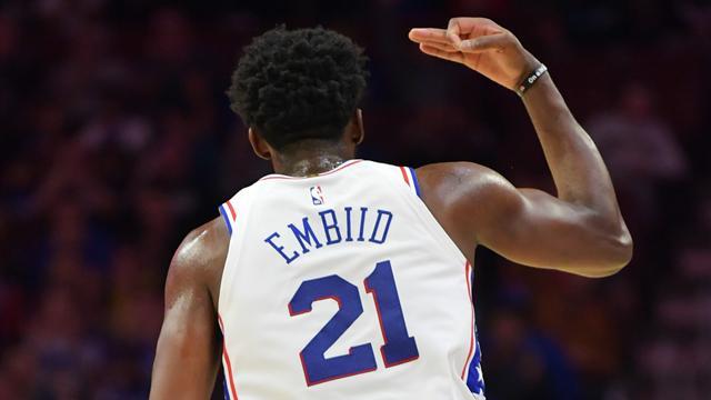 Philadelphia vince con uno show di Embiid, Utah batte Boston senza Irving