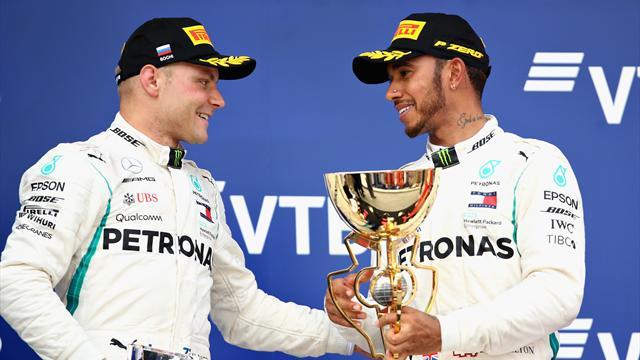 Wolff: Hamilton wäre ohne Bottas nicht Weltmeister