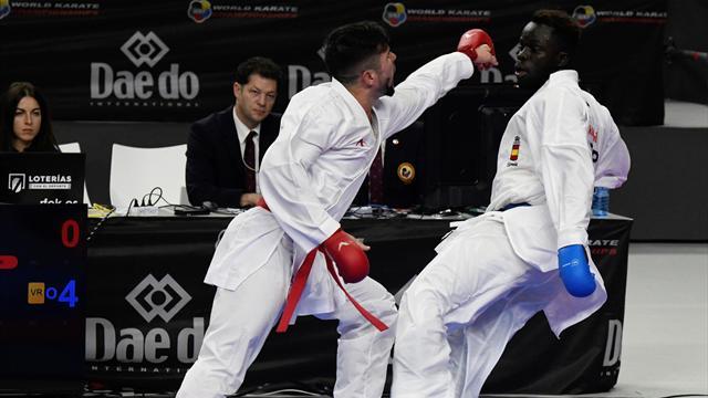 🥉 Babacar Seck, primera medalla para España en los Campeonatos del Mundo de kárate de Madrid
