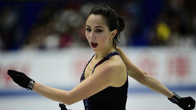 Туктамышева стала третьей на Гран-при Японии