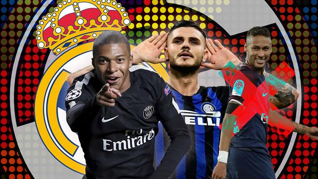 Euro Papers: Real Madrid go on Galactico shopping spree for Mbappe and Icardi