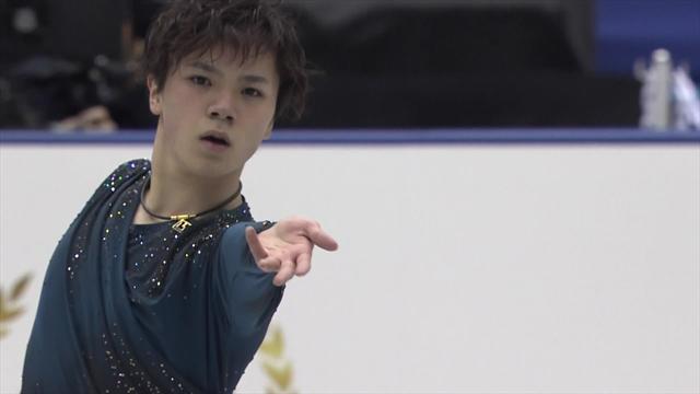 Shoma Uno's full display in the NHK Trophyfree skate