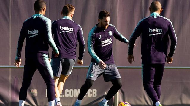 El Barcelona prepara su cita liguera contra el Betis