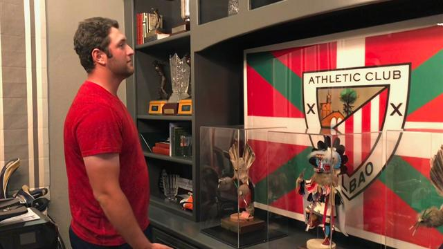Jon Rahm, un vizcaíno residente en Arizona, amante del Athletic y que no olvida sus raíces