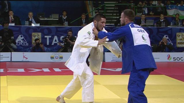 Khikmatillokh Turaev takes gold in -73kg field in Tashkent