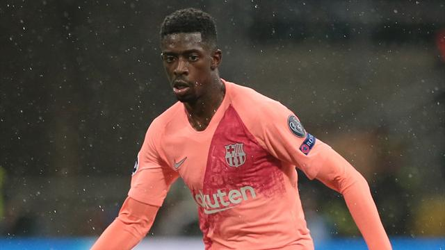 Barcelona drop Dembele from squad after training no-show