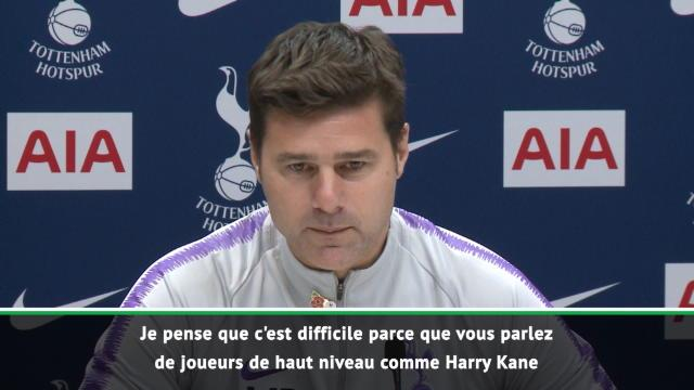 """Tottenham - Pochettino : """"Personne ne veut être dans l'ombre de Kane"""""""