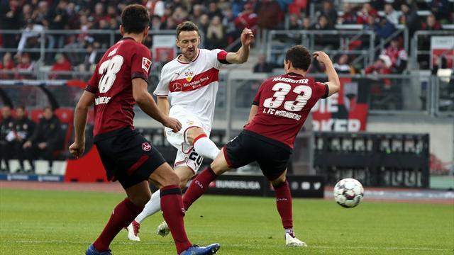 """VfB gelingt Befreiungsschlag in Nürnberg: """"Viele Steine vom Herzen gefallen!"""""""