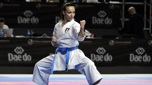 Doppia medaglia di bronzo iridata per l'Italia nel kata con Bottaro e Busato