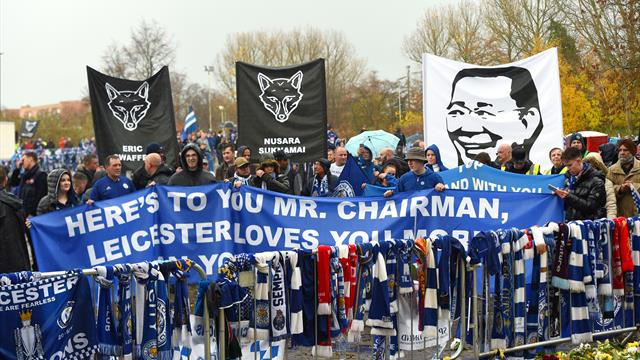 Leicester pay tribute to Vichai Srivadhannaprabha ahead of Burnley match